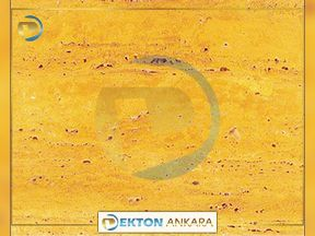 Yellow Travertine Azarshahr A 500 | Granit Mermer Cesitleri Ankara